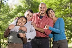 Men's health - family