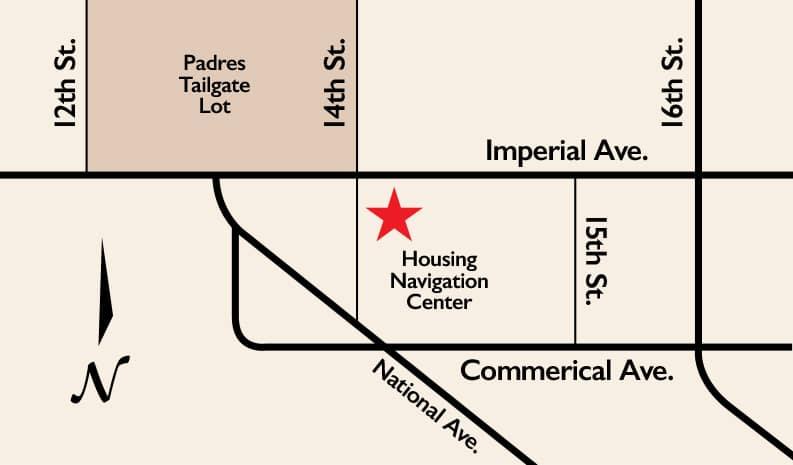 Housing Navigation Center Map