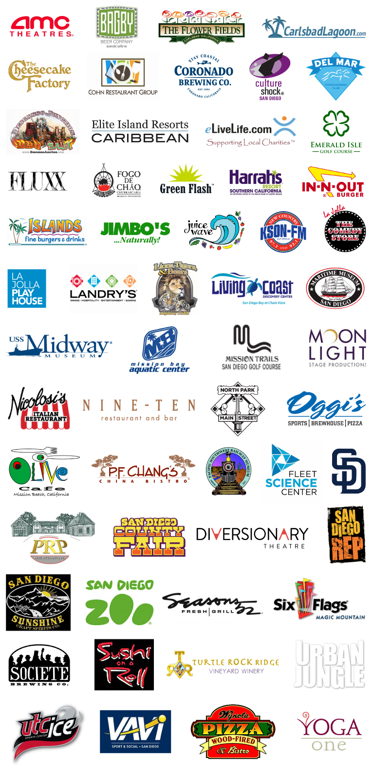 SOTB Raffle sponsor logos