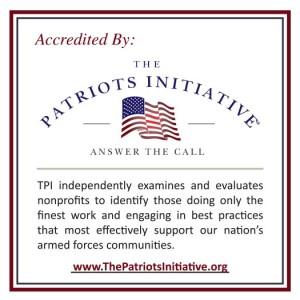 TPI Accreditation Decal -- Square (White)