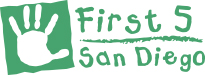 First 5 San Diego Logo - Green
